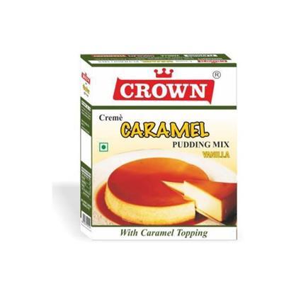 CROWN CARAMEL PUDDING VANILLA 100G