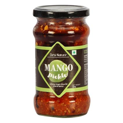 Mango Pickle In Olive Oil - Desi Nature