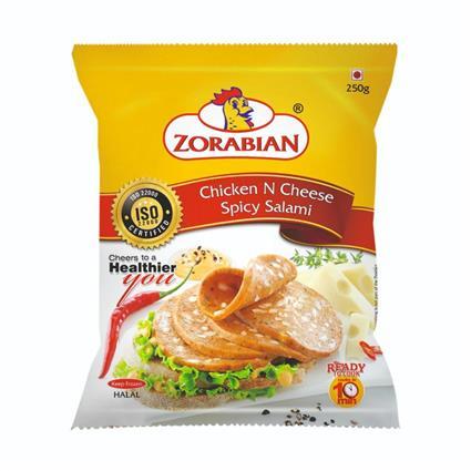ZORABIAN CHICKEN N CHEESE SPICY SALAMI