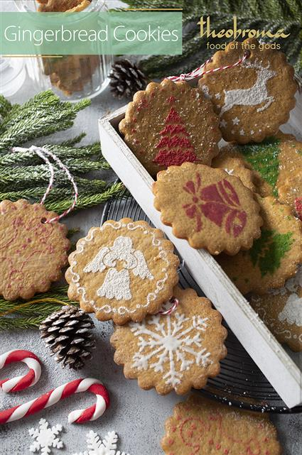 Gingerbread Cookie Box 8 Pcs Theobroma Buy Gift Hampers More