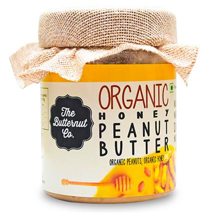 Organic Honey Peanut Butter - The Butternut Co.
