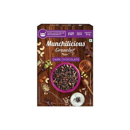 MUNCHILICIOUS GRANOLA DARK CHOCO 500G