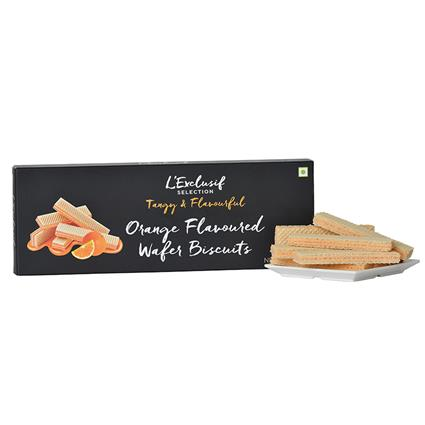Orange Wafer Biscuit - L'exclusif