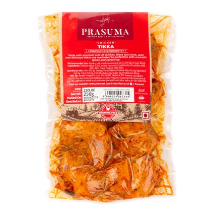 Prasuma Chicken Tikka 250G - Prasuma