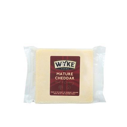 WYKE FARMS CHEDDAR MATURE CHEESE 200G