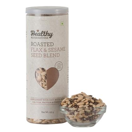 Roasted Blended Seeds Sesme Flax - Healthy Alternatives