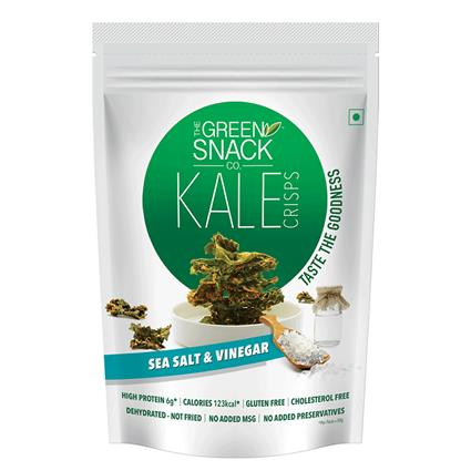 GSC KALE CHIPS SEA SALT & VINEGAR 30G