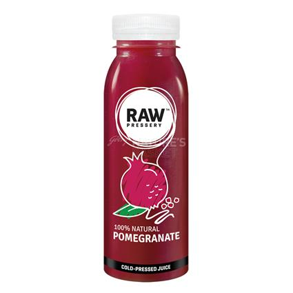 Cold Pressed Juice Pomegranate - Raw Pressery