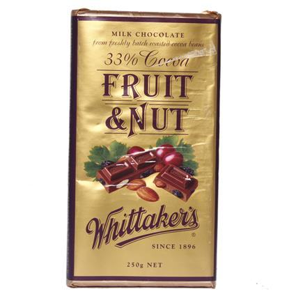 Fruit & Nut Chocolate - Whittaker's