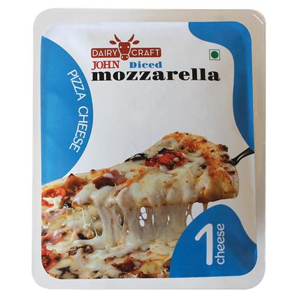 Grated Mozzarella 200G - John's