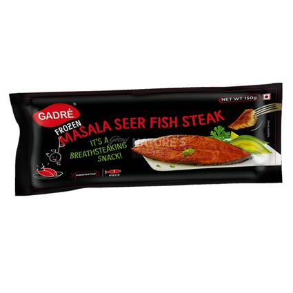 Masala Seer Fish Steak - Gadre