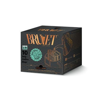 BRUVET DARK BLEND COFFEE BAGS 150G