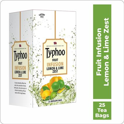TYPHOO LEMN&LIM ZEST FRT INFUSION 25 TB