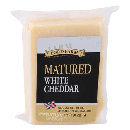 White Matured Cheddar Cheese - Ford Farm