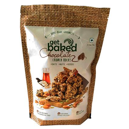 Get Baked Chocolate Crunch Rocks - Get Baked