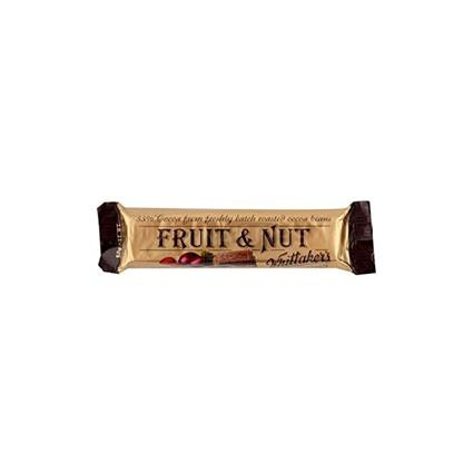 WHITTAKERS FRUIT & NUT 50G