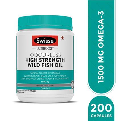 SWISSE FSH OIL OMEGA3 FATY ACID200TAB