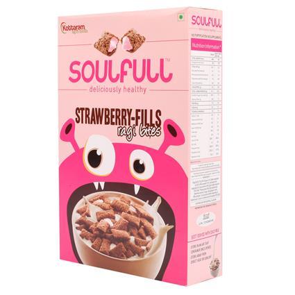 Strawberry Fill Ragi Bites - Soulfull