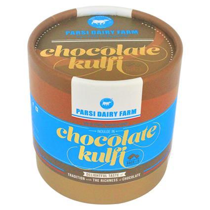 Chocolate Kulfi  -  Pack Of 6 - Parsi Dairy Farm