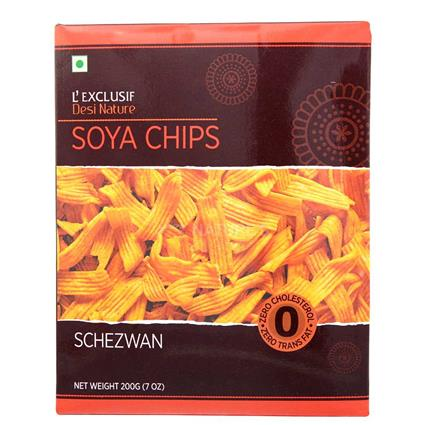 Soya Chips  -  Schezwan - L'exclusif