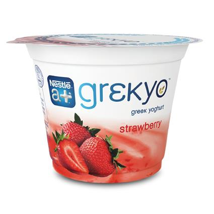 NESTLE A+GREEK YOGHURT STRAWBERRY 100G