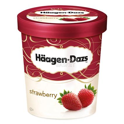 Strawberry Ice Cream - Haagen - Dazs
