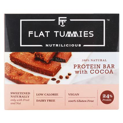 Protein Bar With Cocoa - Flat Tummies