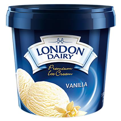 Premium Vanilla Ice Cream - London Dairy