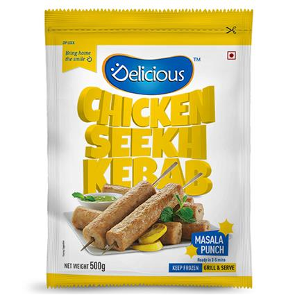 Chicken Seekh Kebab - Elicious
