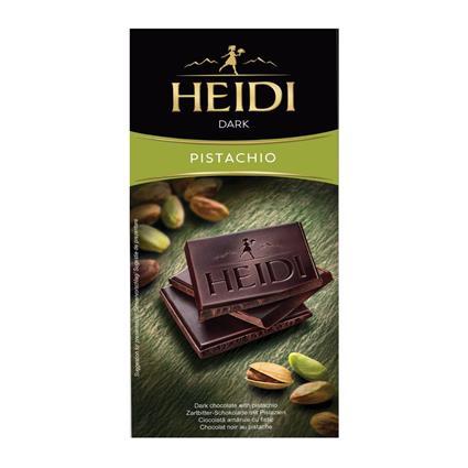 HEIDI DARK WITH PISTACHIO 80G