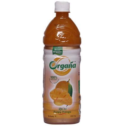 ORGANA ORAGNIC RICH MANGO JUICE 1 LT