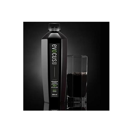 EVOCUS BLACK ALKALINE WATER 500 ML