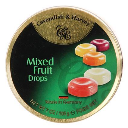 Mixed Fruits Drops Candy - Cavendish