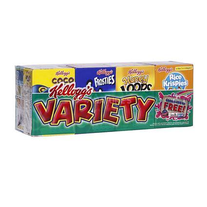 Variety Pack Snack Bar  -  8Pcs - Kelloggs