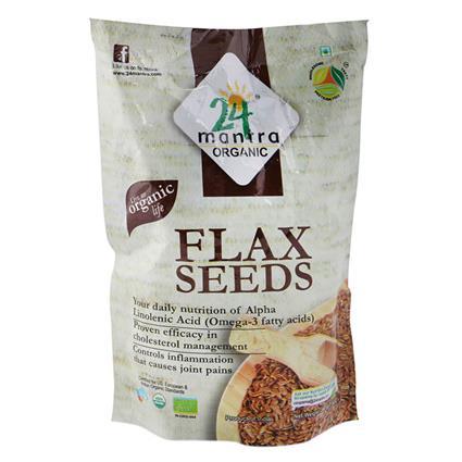Flax Seeds - 24 Mantra Organic