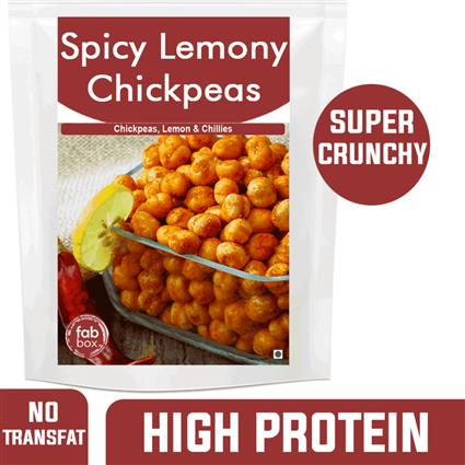 FABBOX SPICY LEMONY CHICK PEAS 140G
