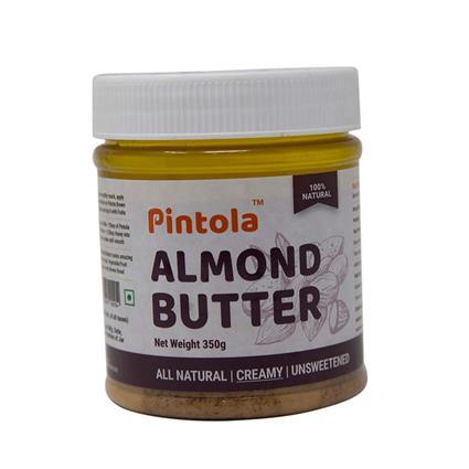PINTOLA ALL NTRL ALMOND BUTR CREAMY 350G