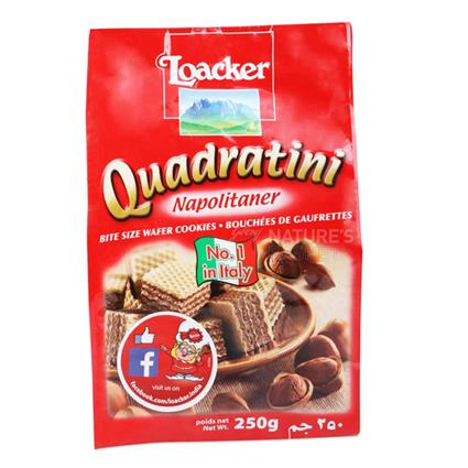 Napolitaner Quadratini Cream Wafer - Loacker