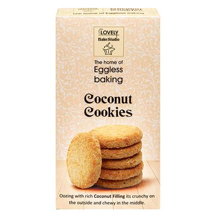 Coconut Cookies - Lovely Bake Studio