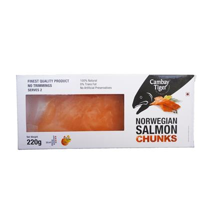 CAMBAY TIGER ATLANTIC SALMON PRTN 220G
