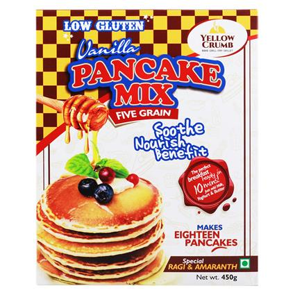 Pancake Mix Five Grain - Yellow Crumb