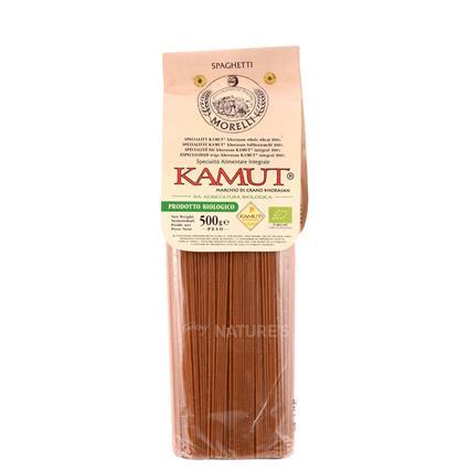 Organic Spaghetti Pasta W Kamut Morelli Naturesbasket Co In