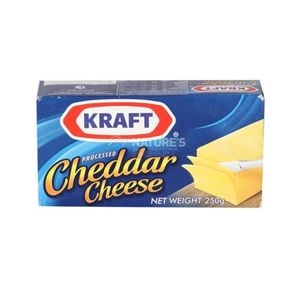 KRAFT PROCESSED CHEDDAR CHEESE 250G