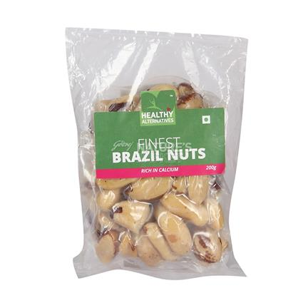 Brazil Nuts - Healthy Alternatives