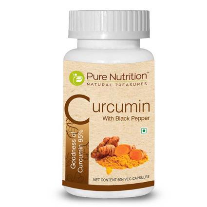 PURE NUTRITION CURCMIN BLCK PEPPER60CAP