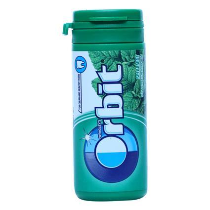 Chew Gum Spearmint Sugarfree - ORBIT