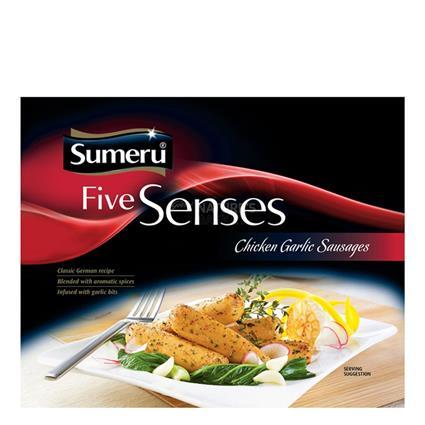 Five Senses Chicken Garlic Sausages - Sumeru