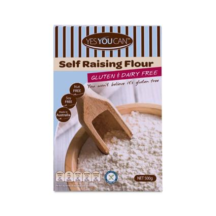 YES YOU CAN SELFRAISING FLOUR GF Mix500g