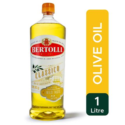 BERTOLLI PURE OLIVE OIL PET 1Ltr