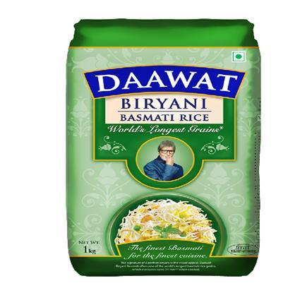 DAAWAT BIRYANI BASMATI RICE  1kg